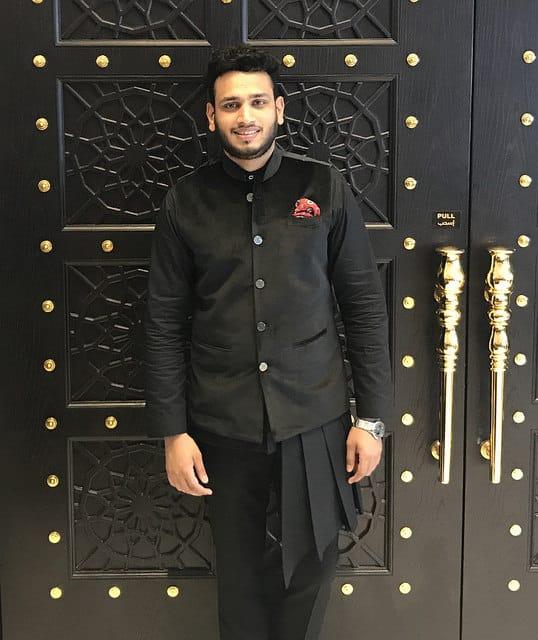 Fashion Choreographer Lokesh Sharma at Shop Qatar Festival