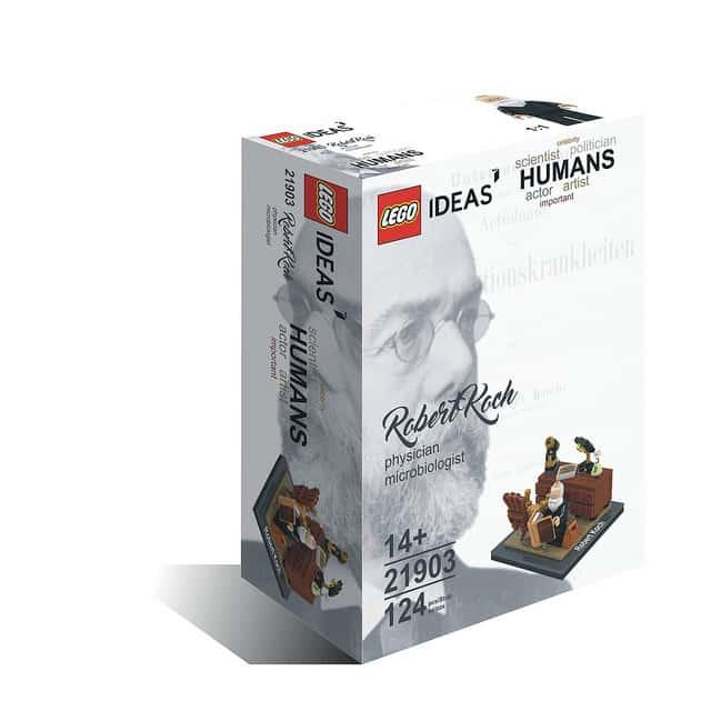 Lego ideas humans robert koch box art concept by Björn Daniel Weissberg