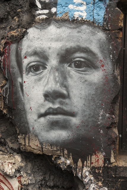 Mark Zuckerberg, painted portrait DDC_8789