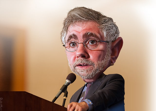 Paul Krugman - Caricature