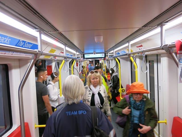 first glimpses of the new muni trains, scott richard