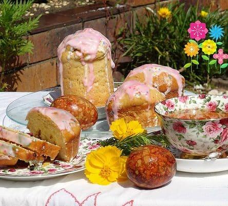 Easter breakfast in my garden ☕