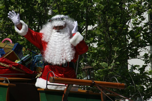 Father Christmas Pageant Adelaide 2009