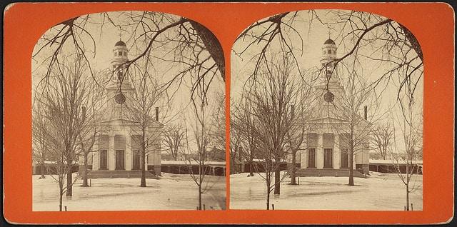 Unitarian Church where first Provincial Congress met. Concord, Mass.